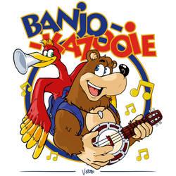 Banjo-Kazooie by TheArtOfVero
