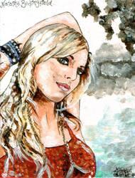 Natasha Bedingfield portrait by iggytheillustrator