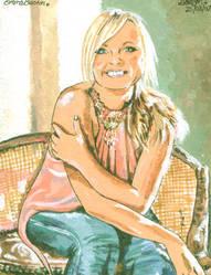 Emma Bunton by iggytheillustrator
