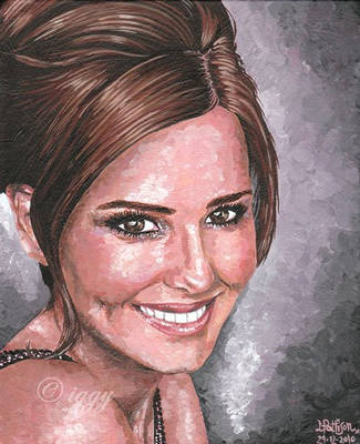 Cheryl Cole by iggytheillustrator
