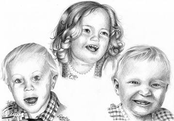Sketch of children