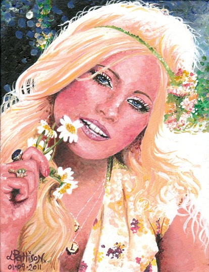 Pixie Lott - Lipsy by iggytheillustrator