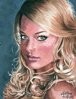 Margot Robbie aka Donna from Neighbours.. Pan Am