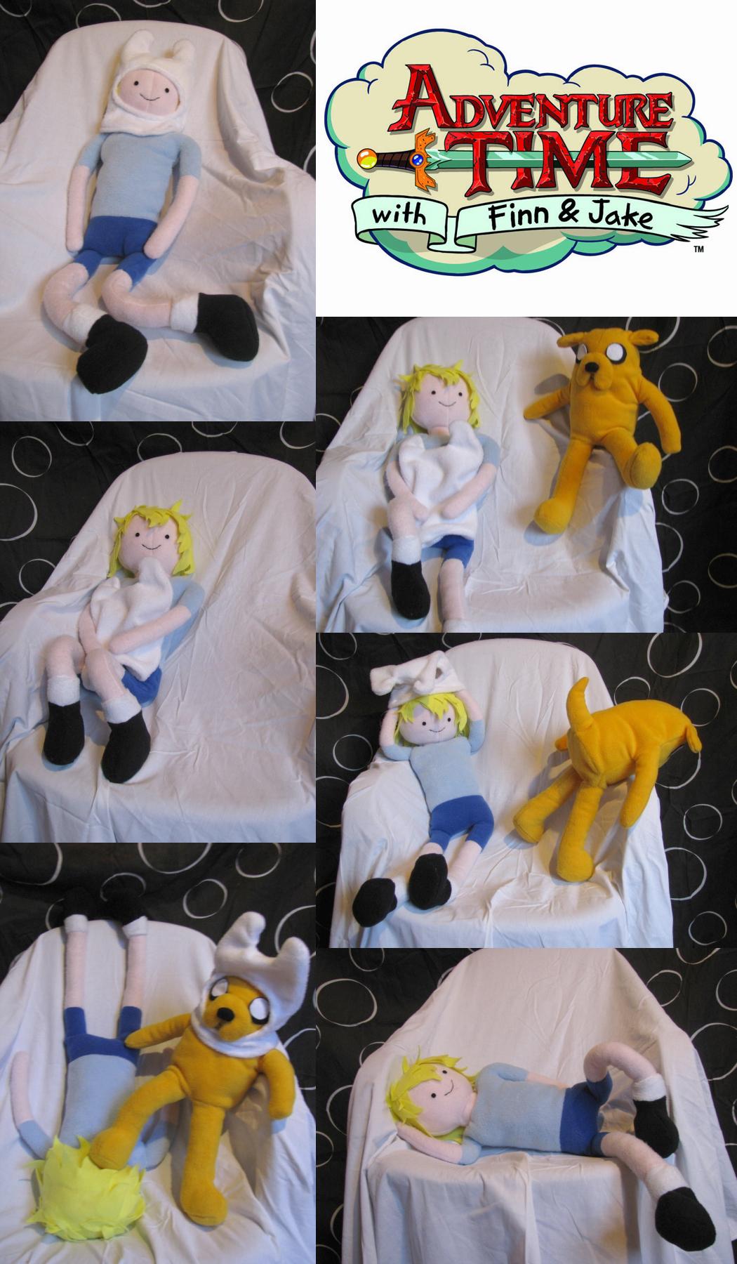 Adventure Time Plushies by chu-po-po