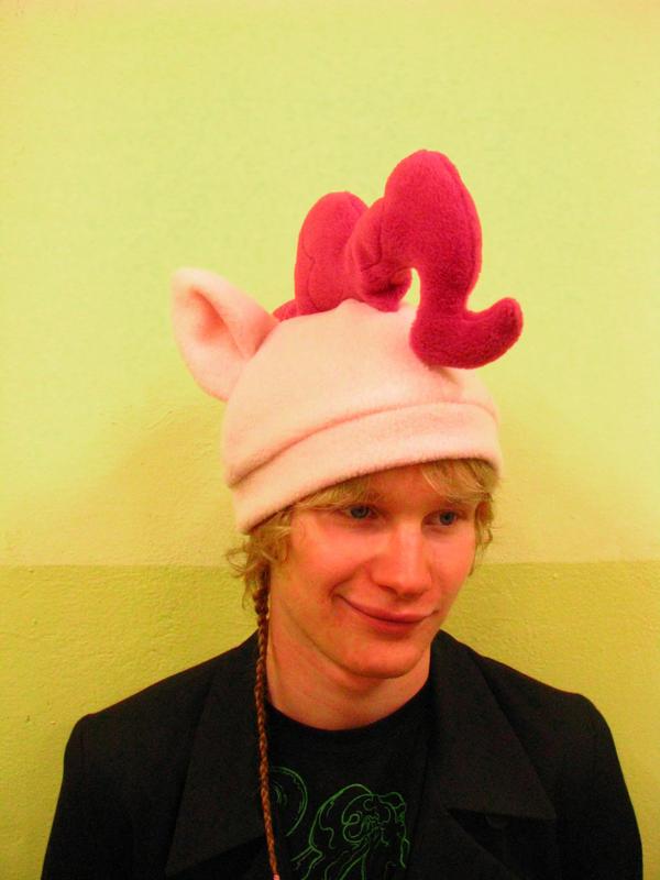 Pinkie Pie hat by chu-po-po