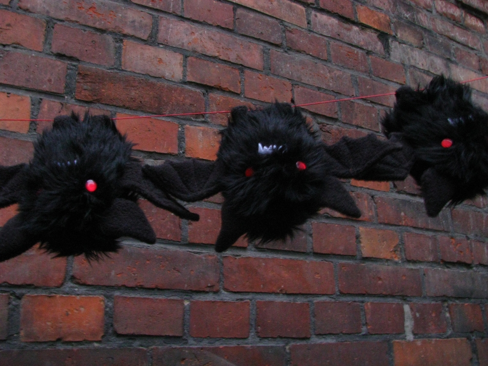 Black evil bats -FOR SALE- by chu-po-po