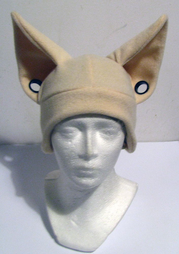 Hat with flesh tunnels! FREE SHIPPING! by chu-po-po