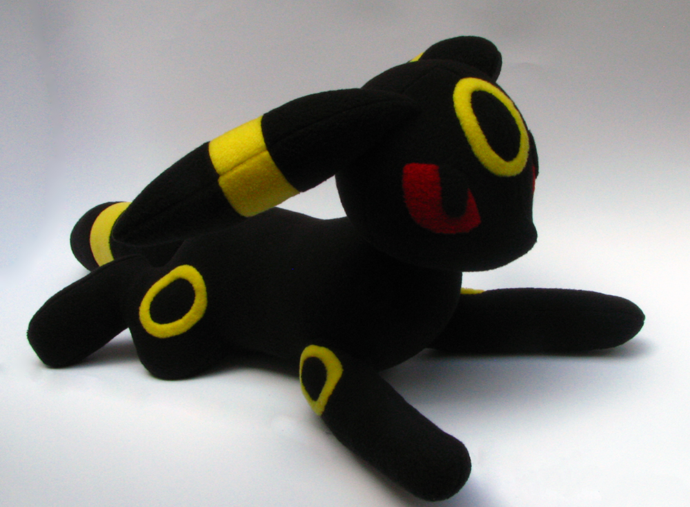 Umbreon Plush - FOR SALE - by chu-po-po
