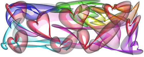 rainbow hearts by x0xVampirex0x