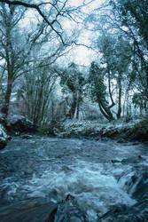 Winter River by WickedWelshy