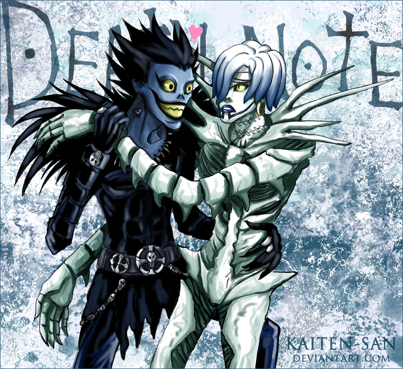 death note rem and ryuk - photo #6