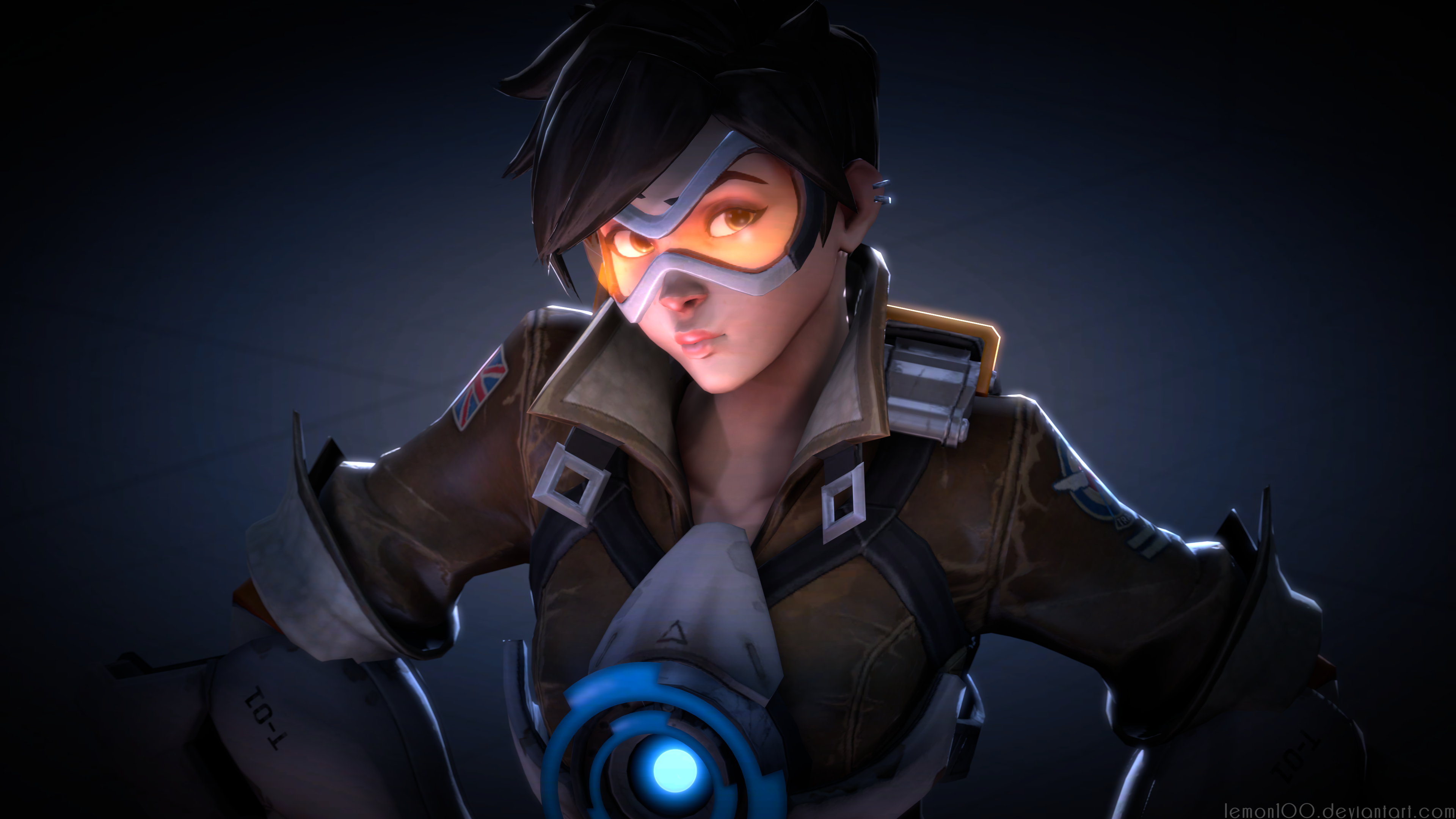 Tracer - Overwatch (Source Filmmaker / 4k by lemon100 on DeviantArt
