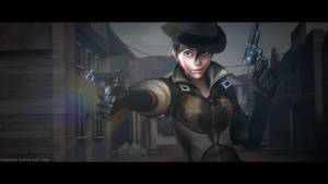 Tracer (Sheriff) - Hands up! (Updated) by LemonySenpai