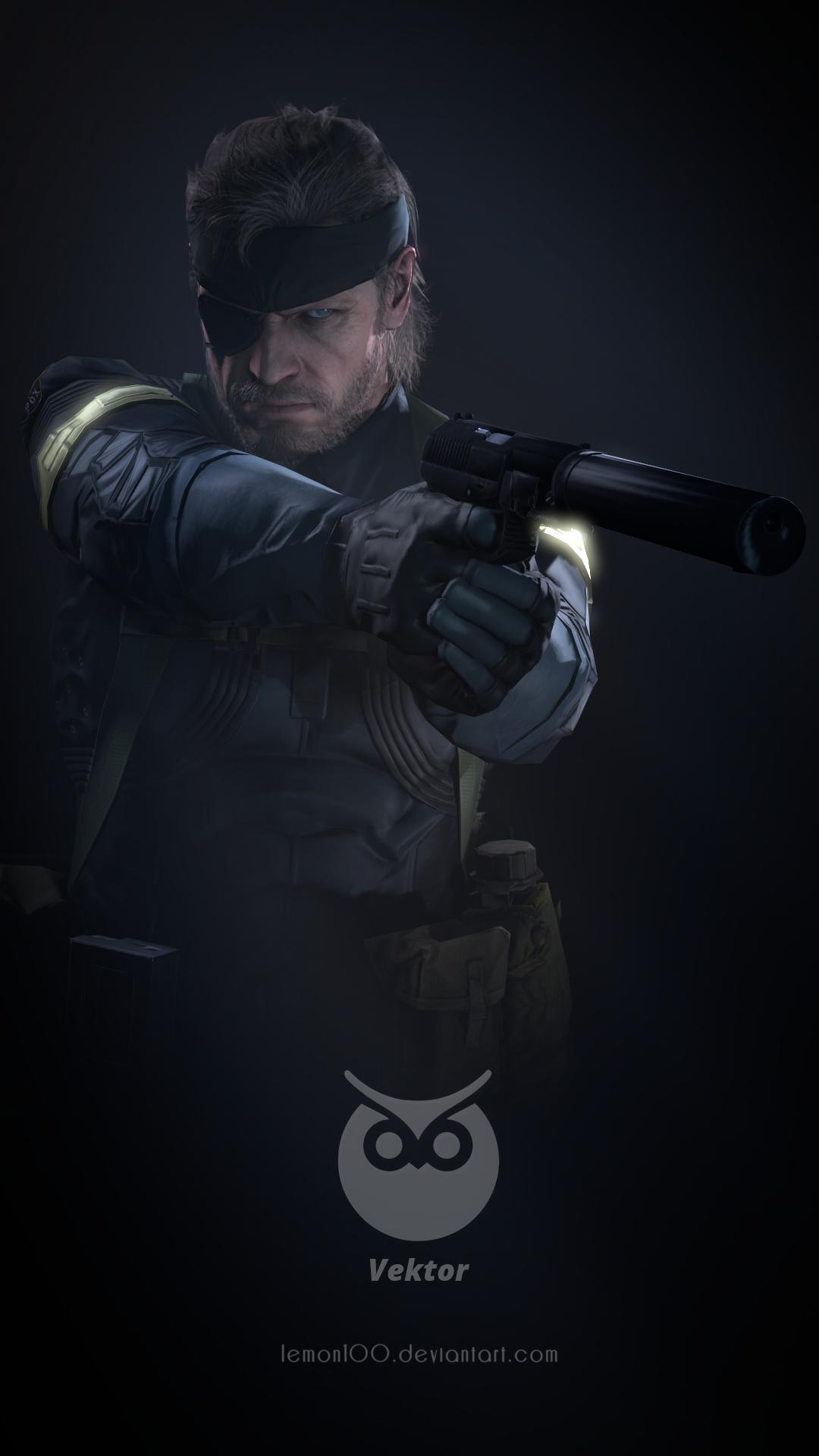 Vektor X Big Boss Metal Gear Solid 5 Sfm By Lemonysenpai