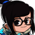 Mei - Overwatch Spray Emoticon