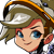 Mercy - Overwatch Spray Emoticon