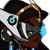 Symmetra - Overwatch Spray Emoticon