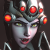 Widowmaker Huntress - Overwatch Emoticon 50x50