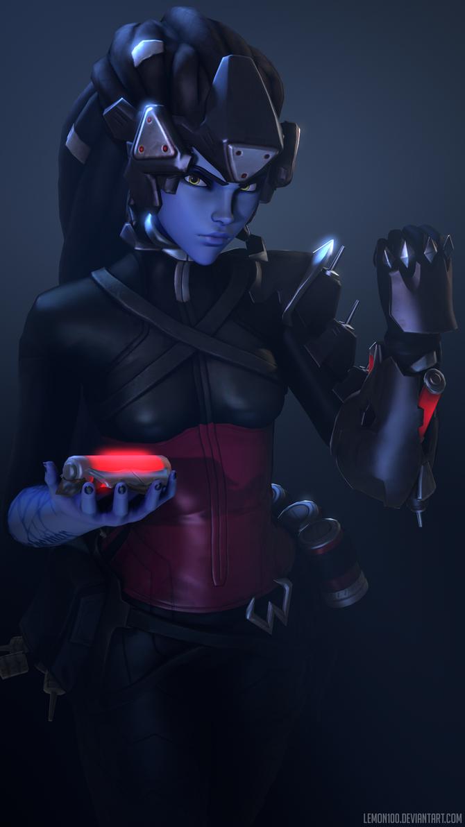Widowmaker Noire - Overwatch by lemon100