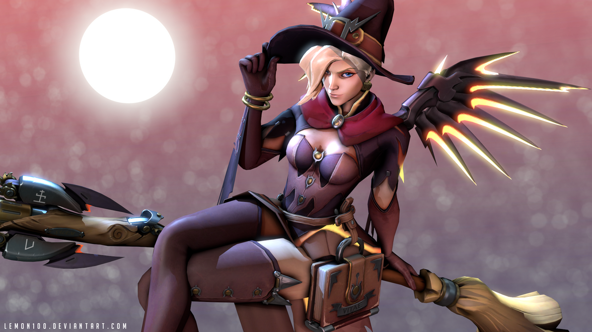 Mercy witch - Happy Halloween! Overwatch / SFM by lemon100 on ...
