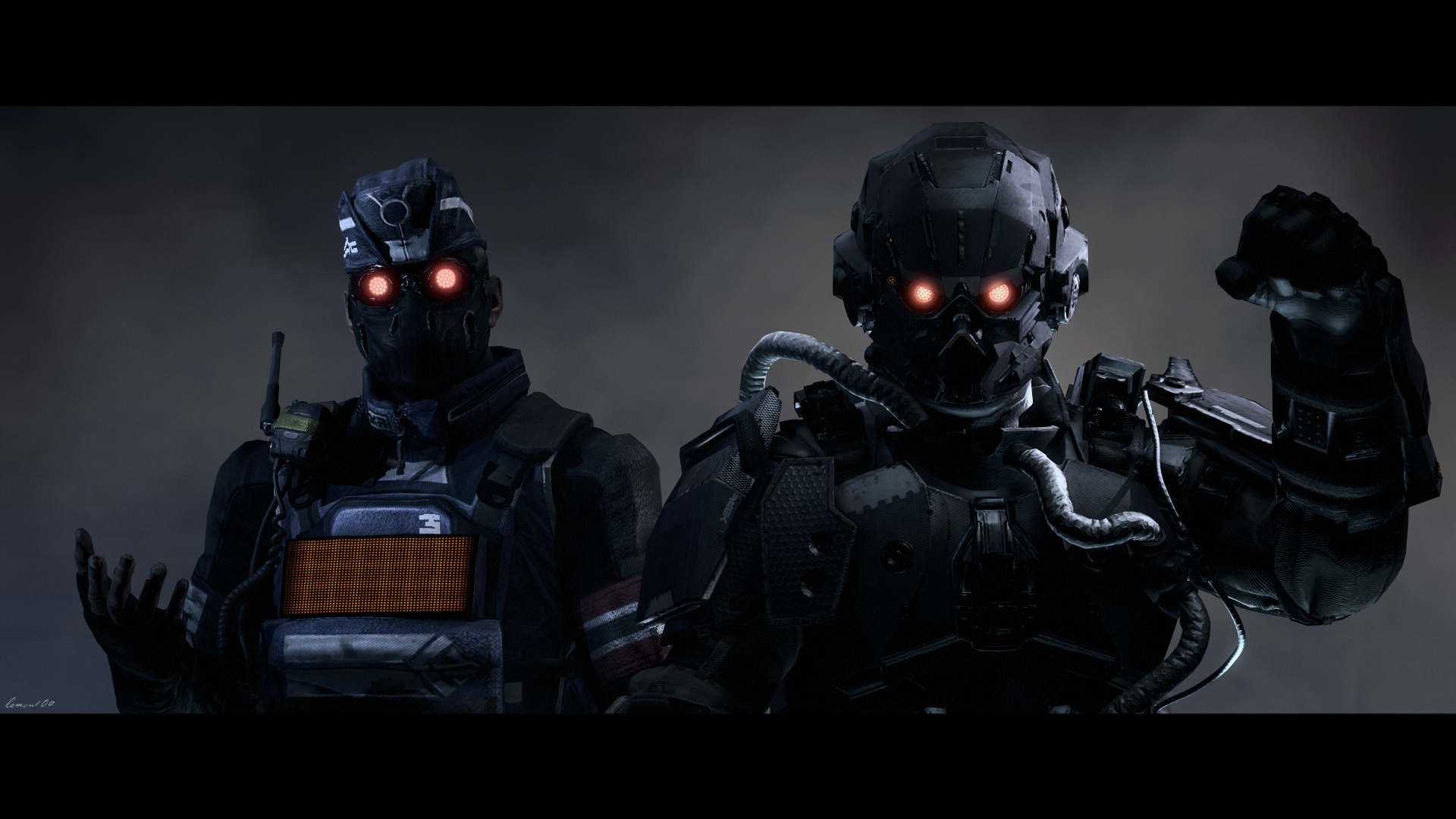 killzone shadow fall helghast security wwwpixsharkcom