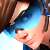 Tracer - Cadet Oxton / Overwatch Uprising Emoticon