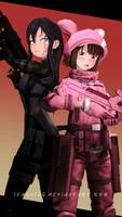 Pitohui / Llenn - Sword Art Online Alternative SFM
