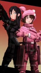 Pitohui / Llenn - Sword Art Online Alternative SFM by LemonySenpai