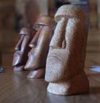 Moai Face by JedSparks