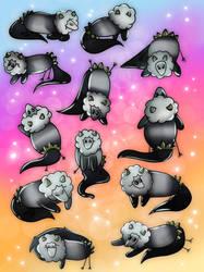 [TWWM] Panda Sketch Page