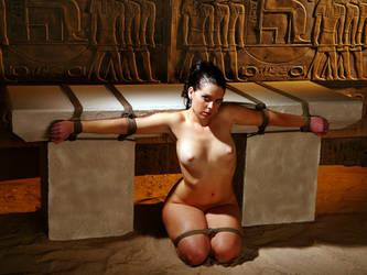 Un rituel de l'Ancienne Egypte by AngelaSprang