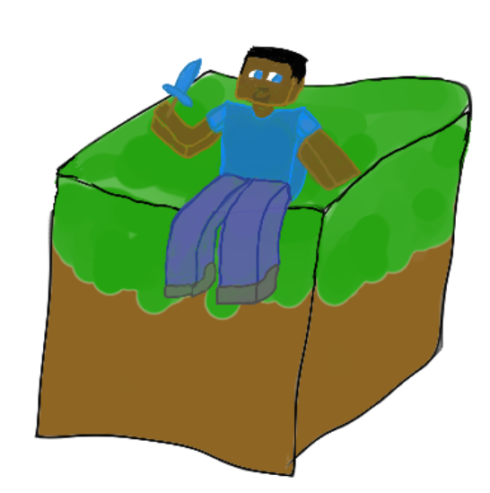 PlopOS - Page 3 Minecraft_steve_by_shinseinayurei-d9oru4y