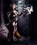 elf female war with envi