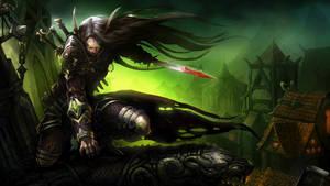 Rogue elf deviant by zarrad