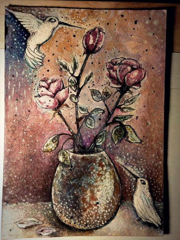 Roses by Aliceintheemptyroom