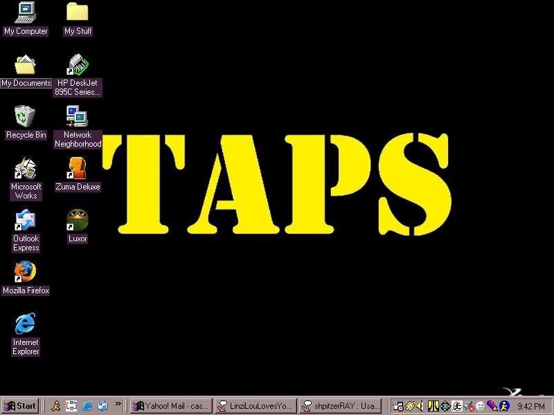 TAPS Wallpaper by piratekitten