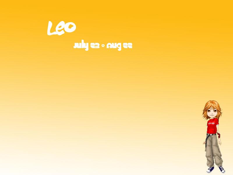 Leo girl wallpaper by piratekitten