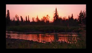 Sunset on the Little Su'