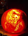 2009 Ghostrider Pumpkin