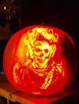 2009 Ghostrider Pumpkin