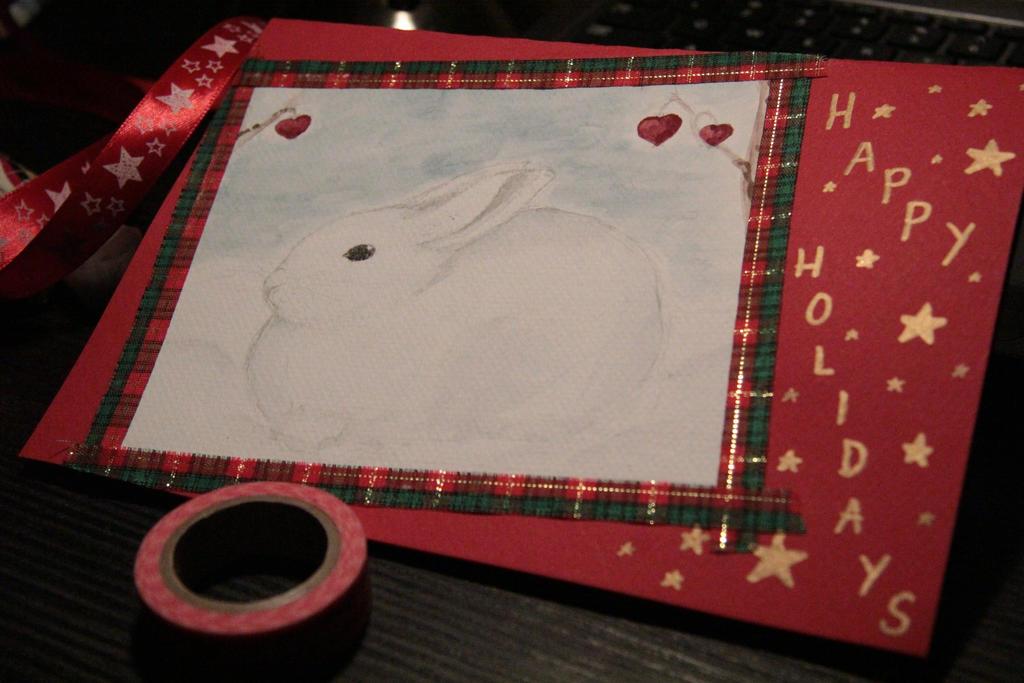 Winter bunny by Hilda96