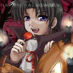 Halloween Greeting oekeki