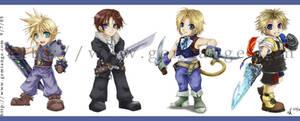 +Final Fantasy Chibi Heros+