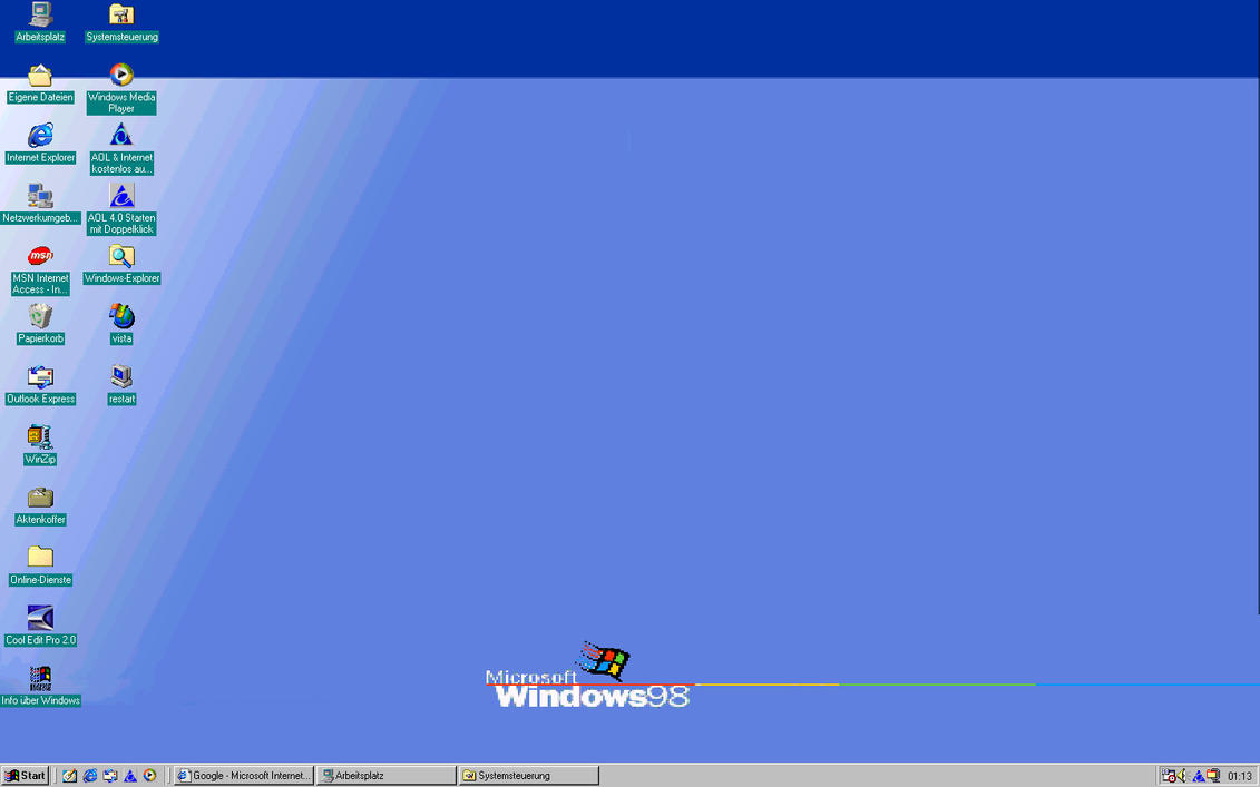 image gallery windows 98 desktop
