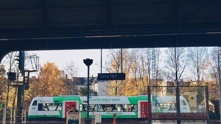 EB in Gera Main Station