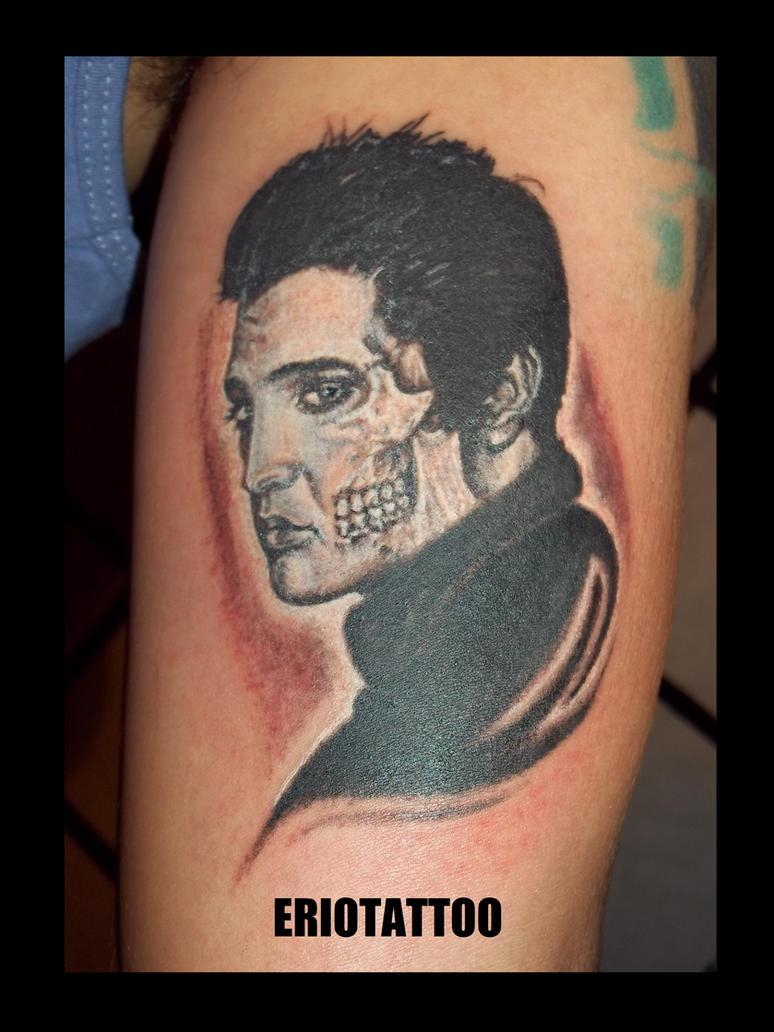 Elvis Presley Tattoo By Eriotattoo On Deviantart