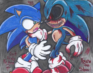 Sonic vs. Sonic.EXE by Shadrico200