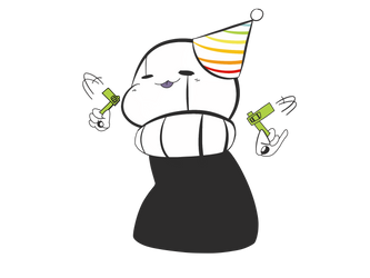 Little Gaster is Celebrating by SillyTillyStudios