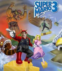 Super Mario Bros 3 by CarlChrappa