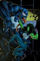 She Hulk vs Venom